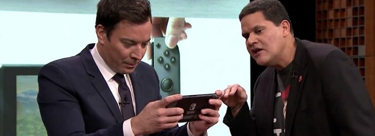 Nintendo Switch bij Jimmy Fallon
