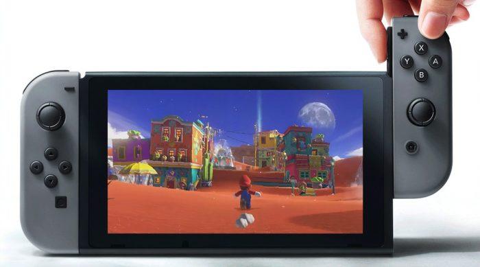 Nintendo Switch productie