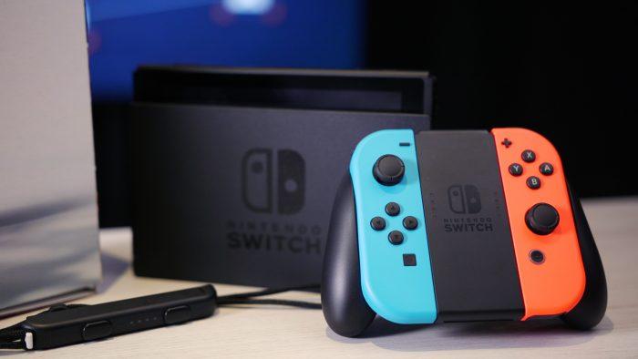 Nintendo Switch verkoop