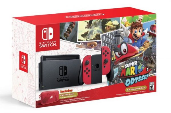 Super Mario Odyssey Switch bundel