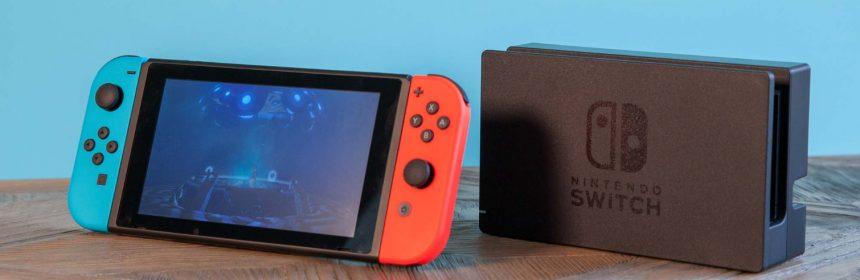 Nieuwe Nintendo Switch versie