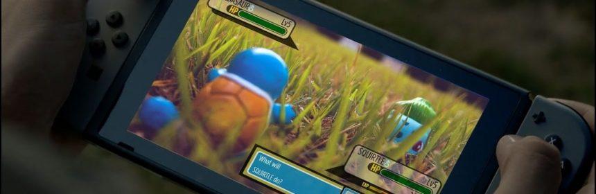 Pokémon op de Nintendo Switch