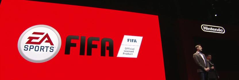 Fifa 18 op de Nintendo Switch